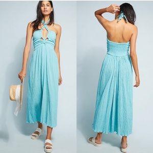 Mara Hoffman Annika Turquoise Dress